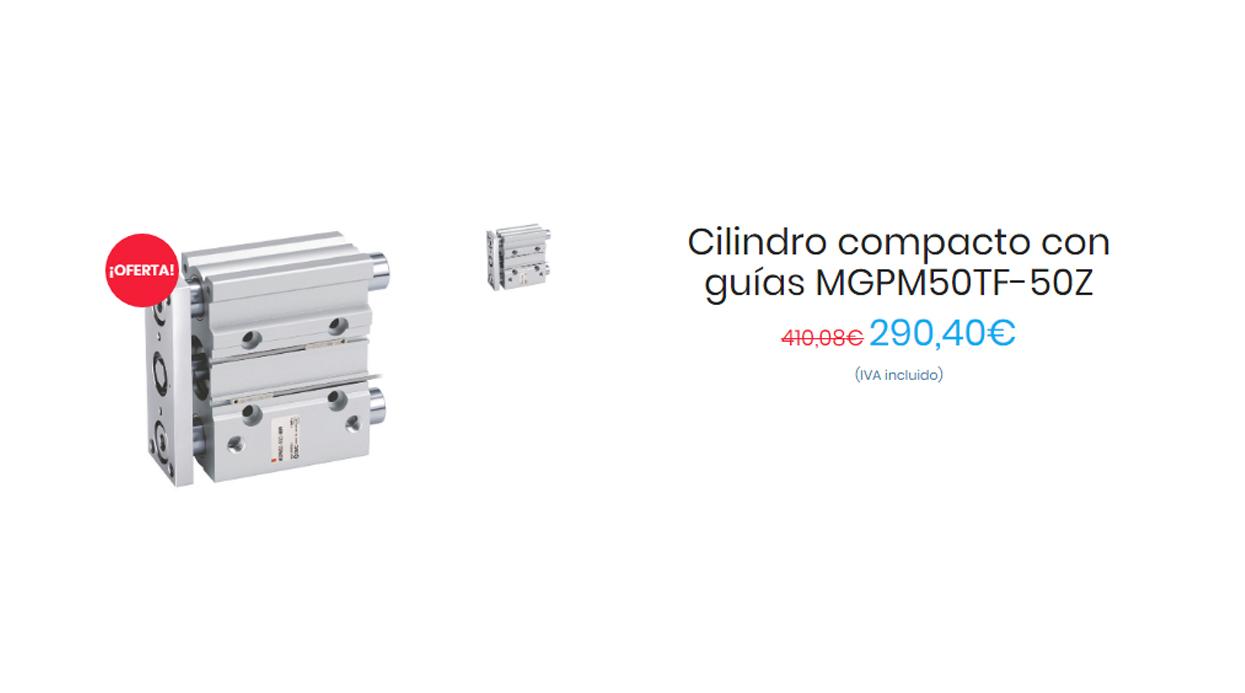 MGP-Z, Cilindro compacto con guías
